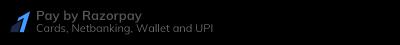 Credit Card / Debit Card / NetBanking / UPI / QR SCAN