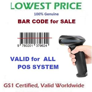 GS1 Certified Barcode Label