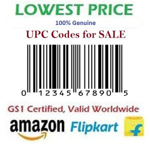 UPC-Certified-Bar-Code-for-Amazon-India-Ebay-Flipkart-Amazon-USA-100-Genuine