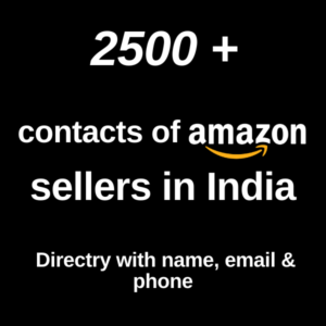 Buy leads for sellers Amazon India